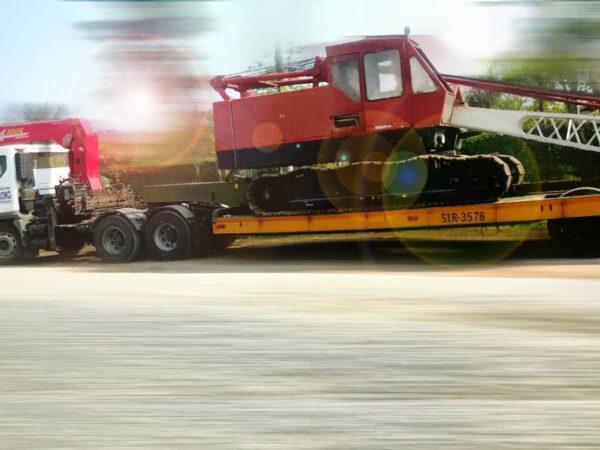 dịch vụ vân chuyển xe cơ giới công trình