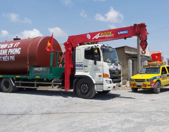 Xe tải cẩu - Thuận Thành Phong