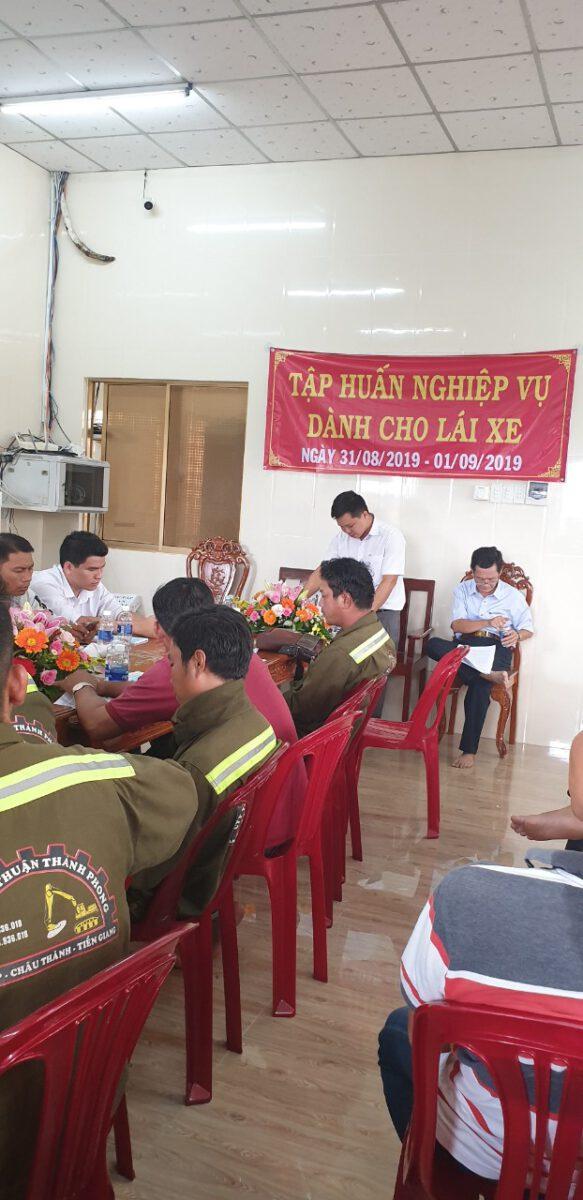 Tập huấn nghiệp vụ lái xe & vệ sinh an toàn lao động 092020 – Thuận Thành Phong (5)