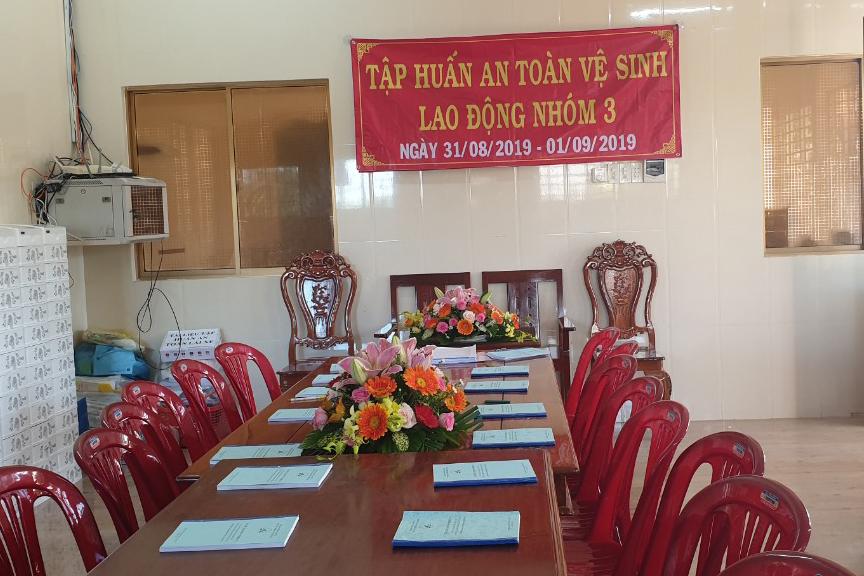 Tập huấn nghiệp vụ lái xe & vệ sinh an toàn lao động 09/2020 – Thuận Thành Phong